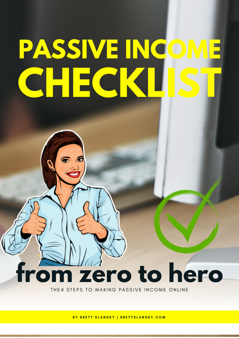passive income checklist