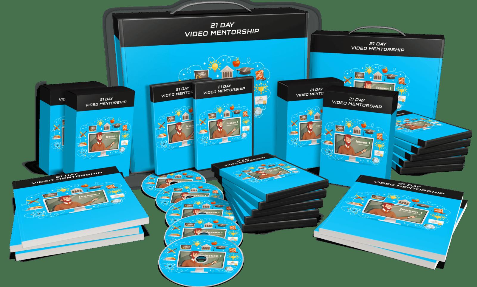 Doodle Maker Bonus 1 - 21 Day Video Mentorship Program