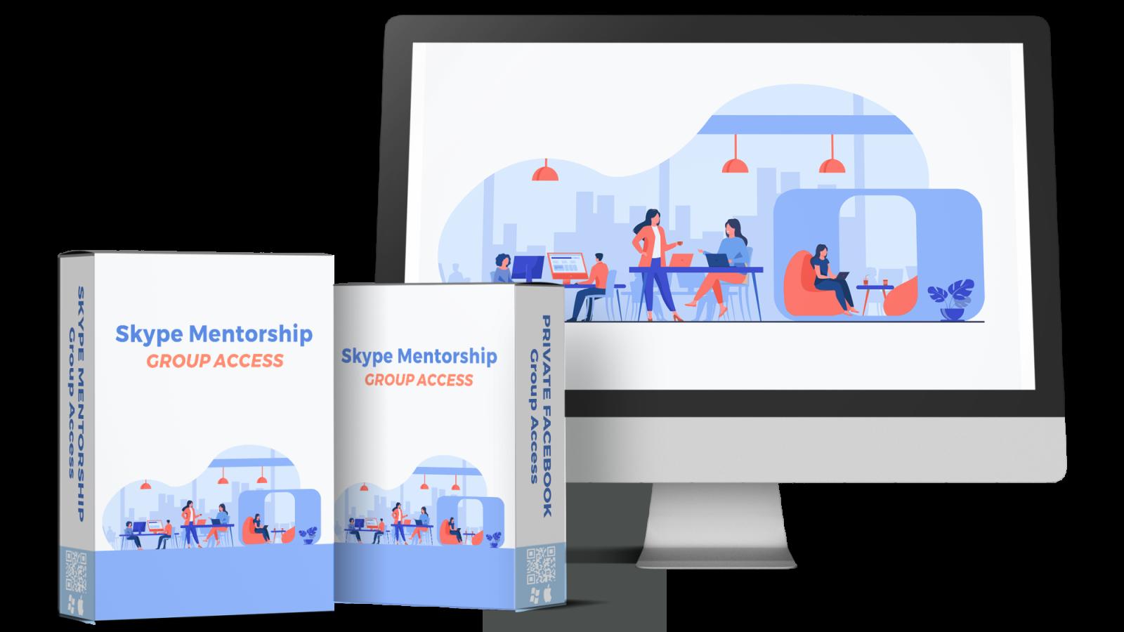 Doodle Maker Bonus 2 - Skype Mentorship