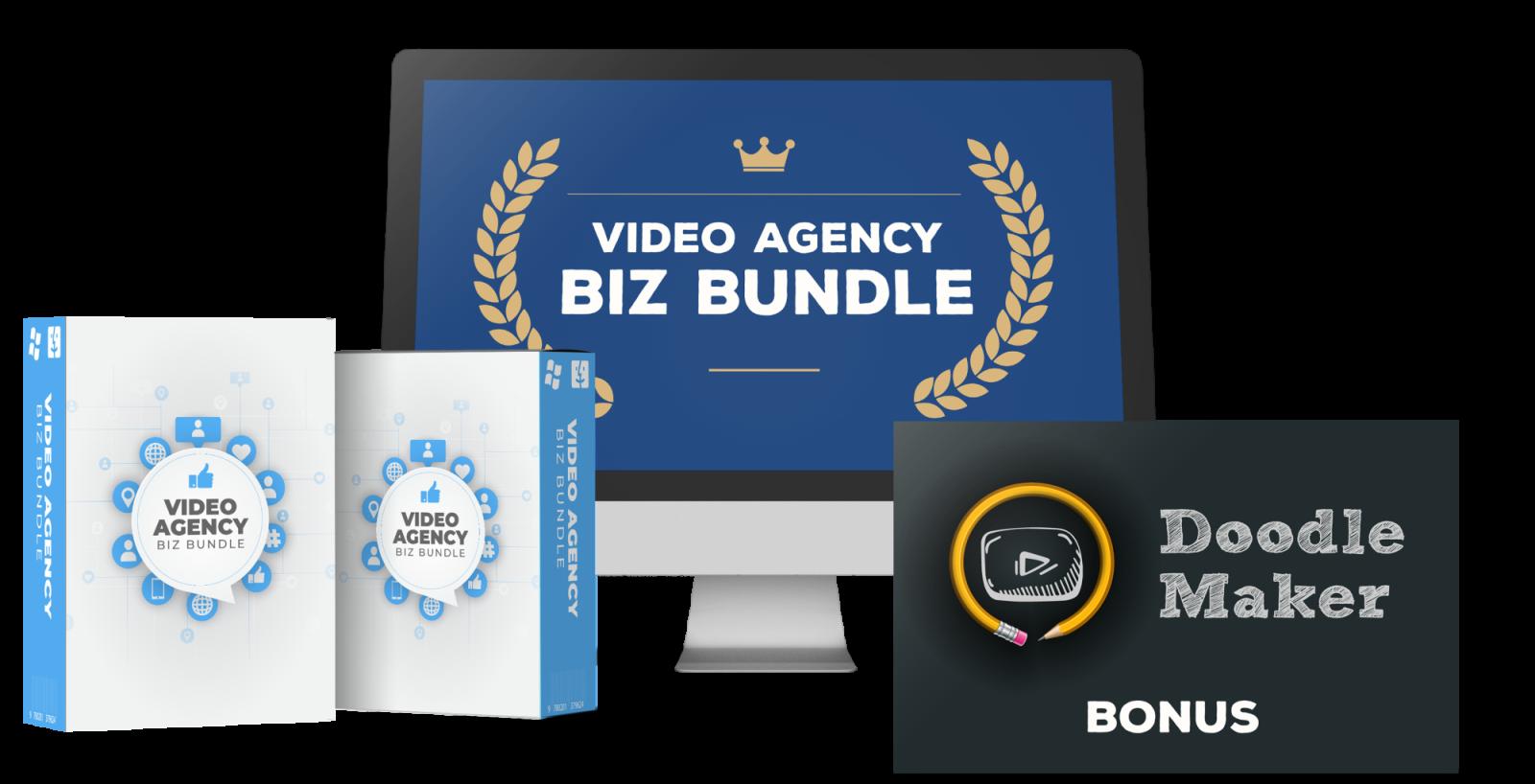 Doodle Maker Bonus 3 -Video Agency Biz Bundle